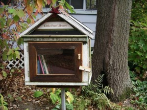 Get free books for your own Tiny Little Library